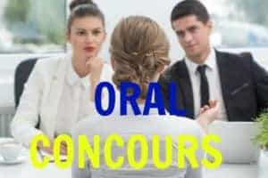 Formation: ORAL CONCOURS