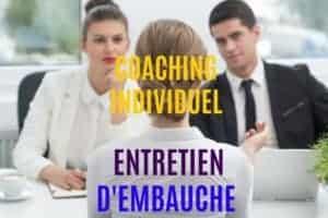 Coaching Individuel: IMPRESSIONNEZ LES RECRUTEURS
