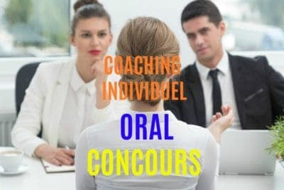 coaching individuel oral concours