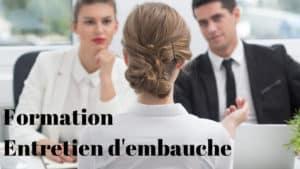 formation aux entretiens d'embauche