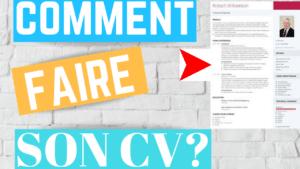 Comment faire un CV?