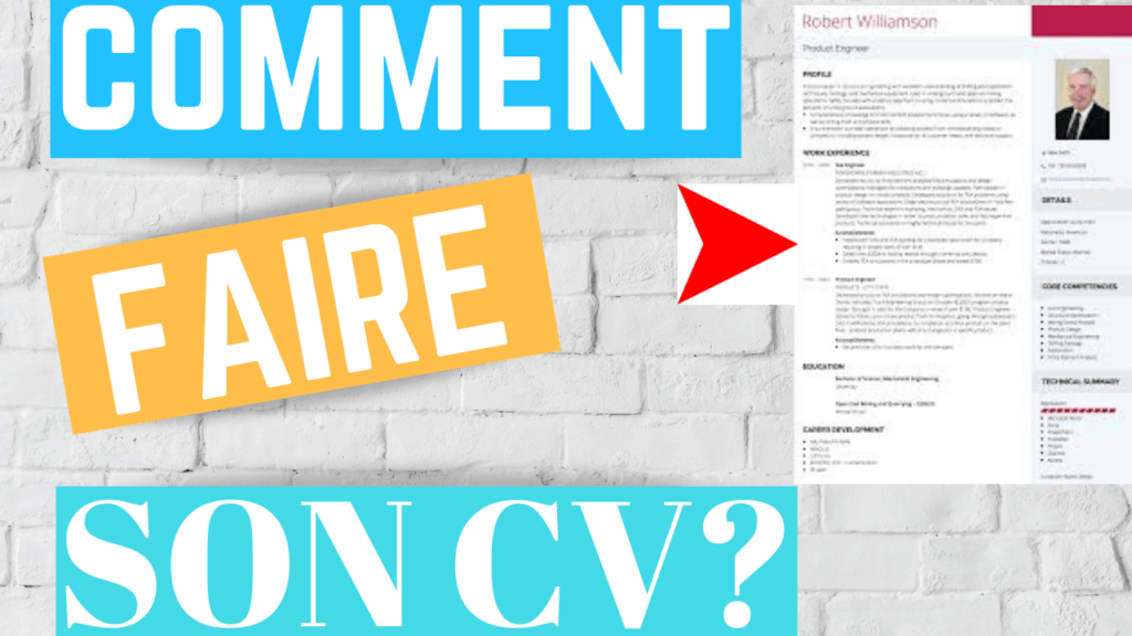 Comment faire son CV sous word?