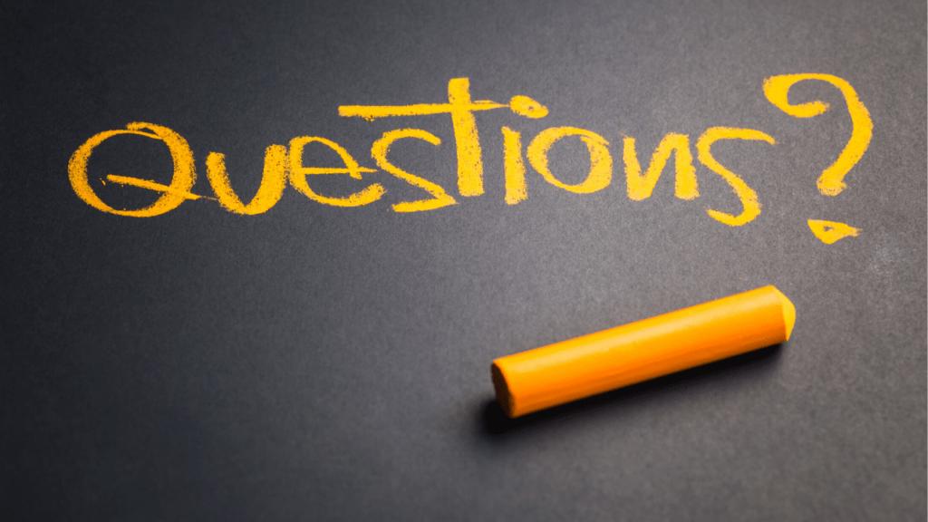 liste de questions