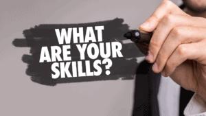 quelles sont vos 3/4 grandes compétences pour réussir cette alternance?