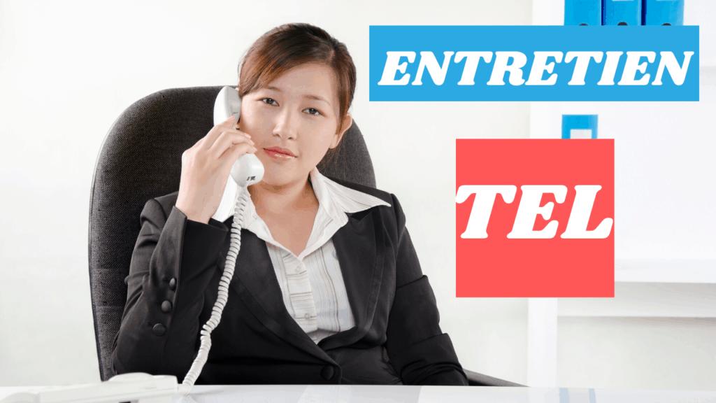 Comment réussir son entretien téléphonique?